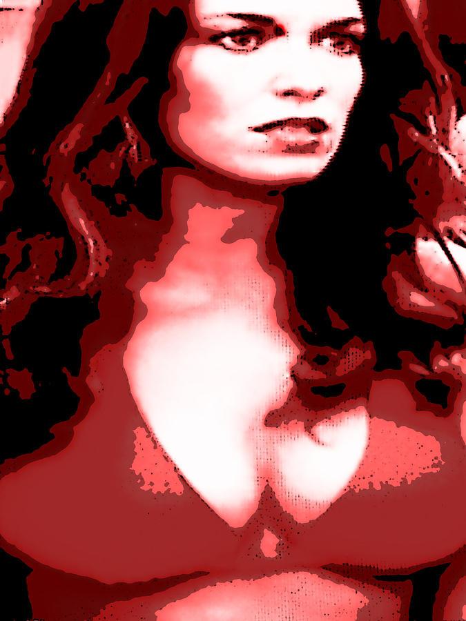 Daisy Duke Dark Variation Digital Art