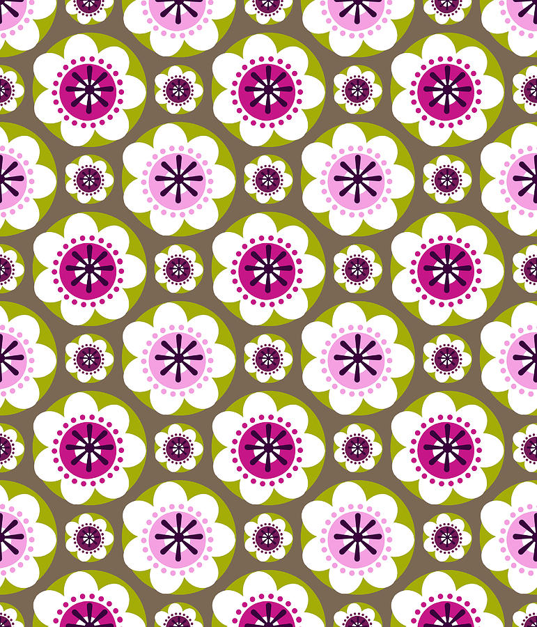 Posters Digital Art - Daisys Flower Garden by Lisa Noneman