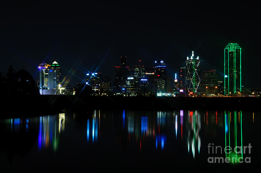 Dallas Reflections Photograph