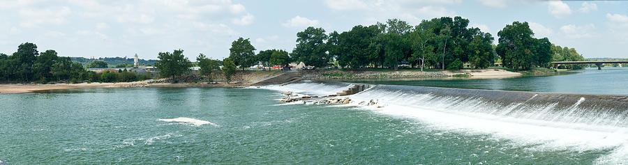 Dam At Batesville Arkansas Photograph