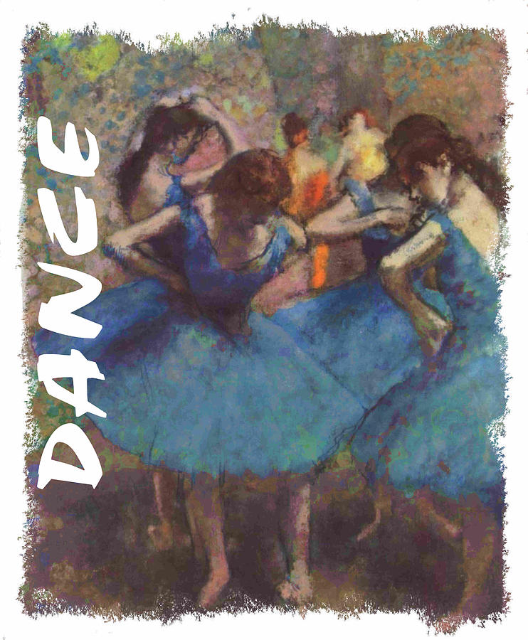 Dance By Degas Painting