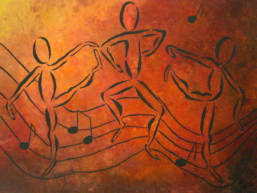 Dance Fever Painting