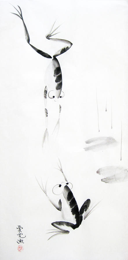 Tai Painting - Dance With Me by Oiyee At Oystudio