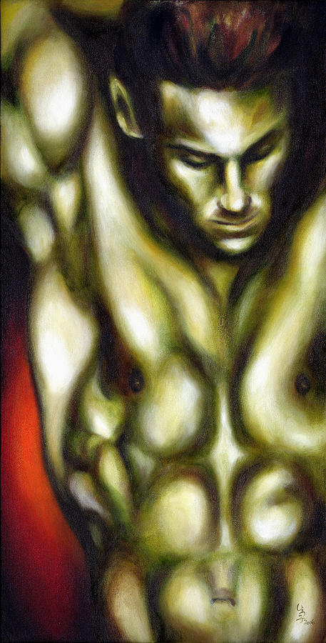 Dancer One Painting  - Dancer One Fine Art Print