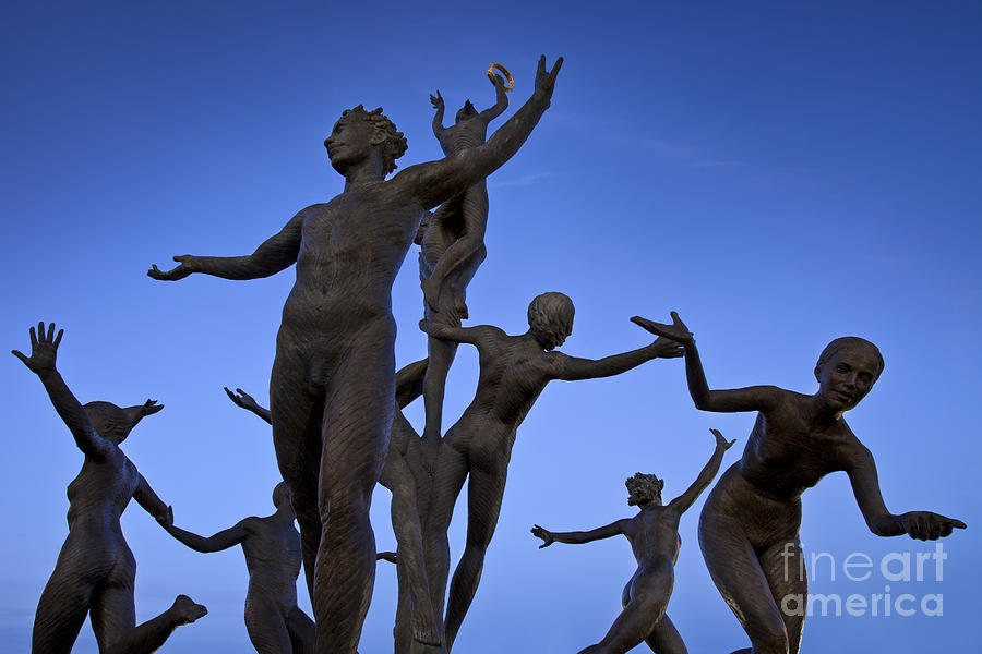 Dancing Figures Photograph