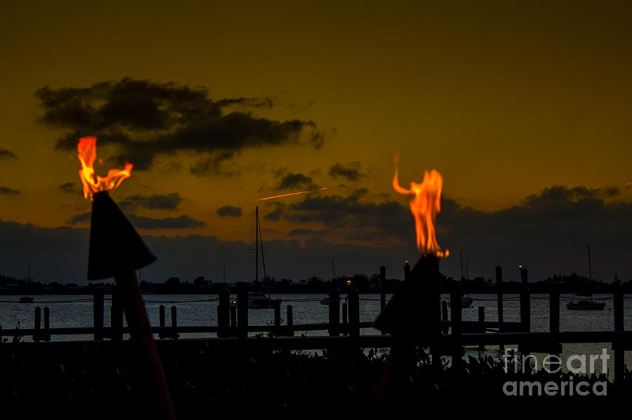Dancing Flames Photograph  - Dancing Flames Fine Art Print