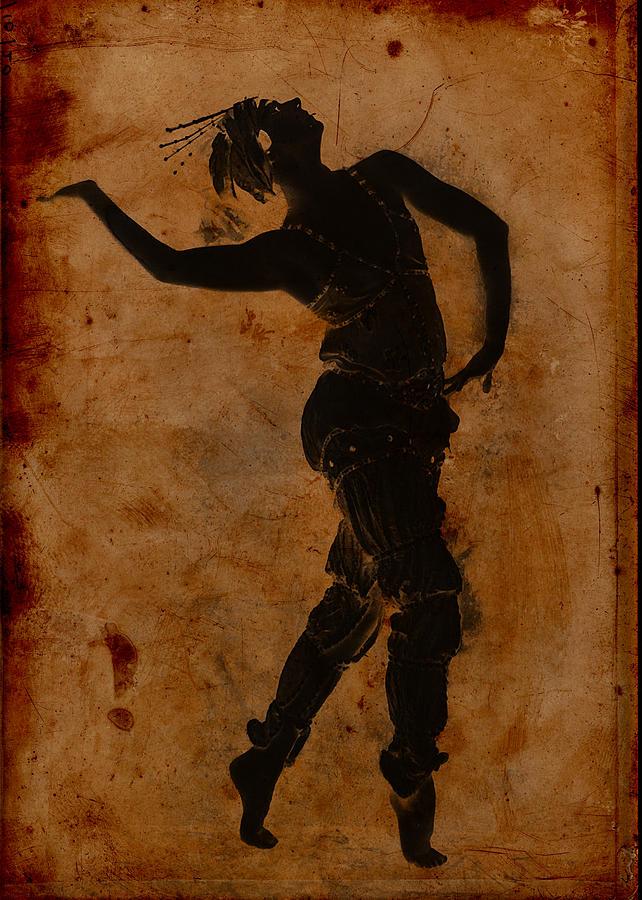 Dancing In Greek Digital Art - Dancing In Greek by Sarah Vernon