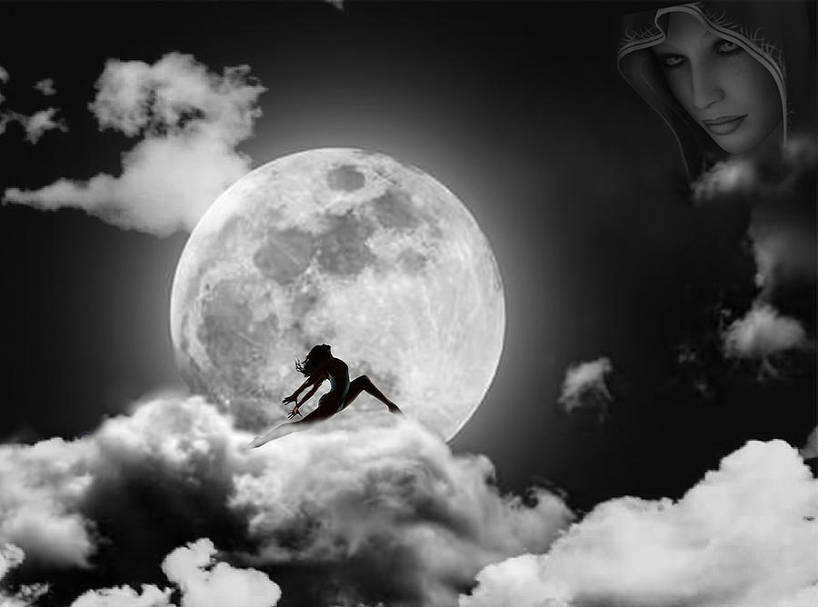 Dancing In The Moonlight Digital Art