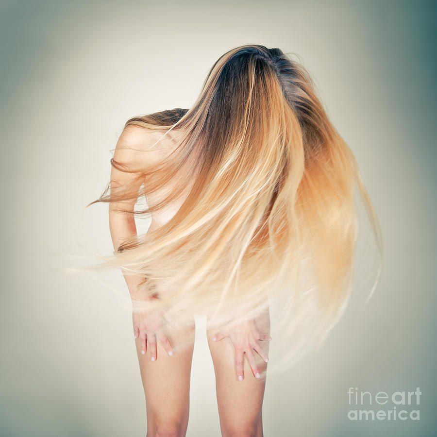 Фото девушек блондинок вид сзади 1 фотография