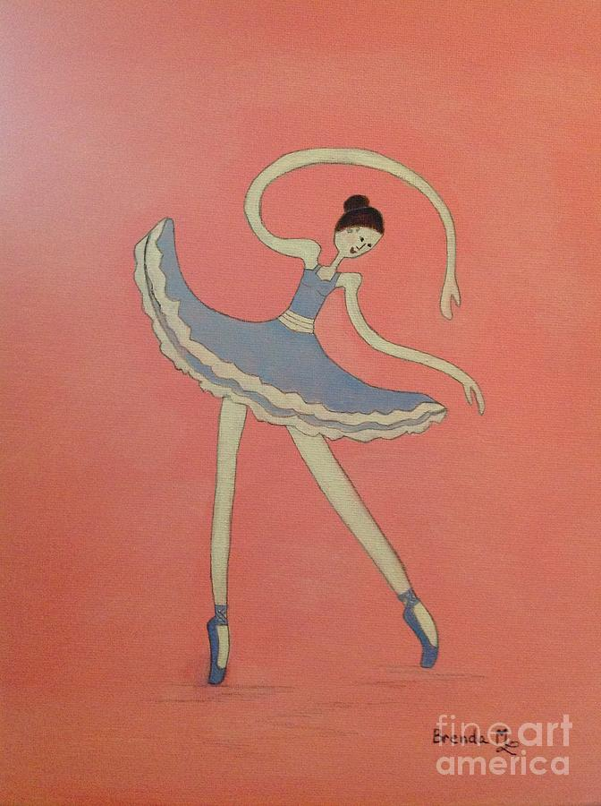 Dancing On My Toes Painting  - Dancing On My Toes Fine Art Print