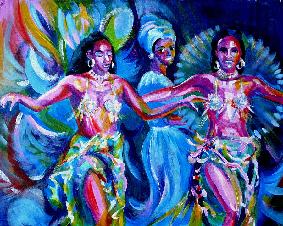 Dancing Panama Painting