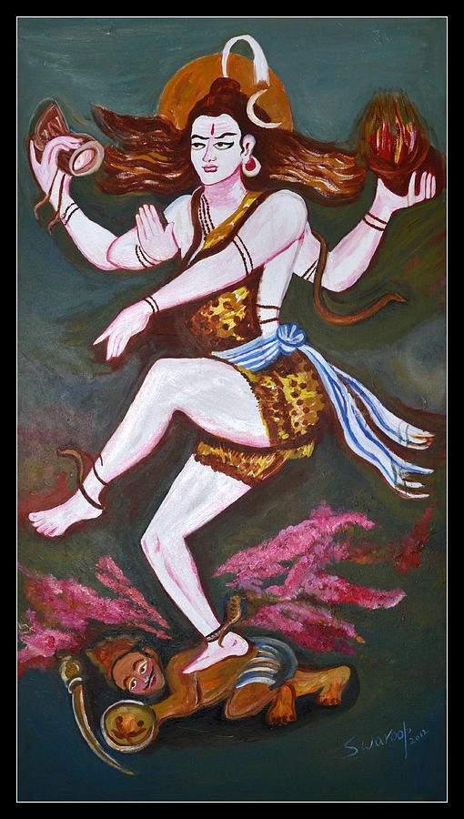 Dancing Siva Painting
