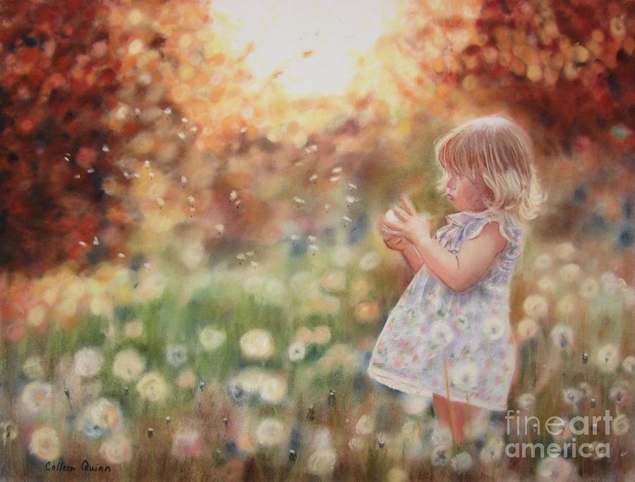 Dandelions Pastel