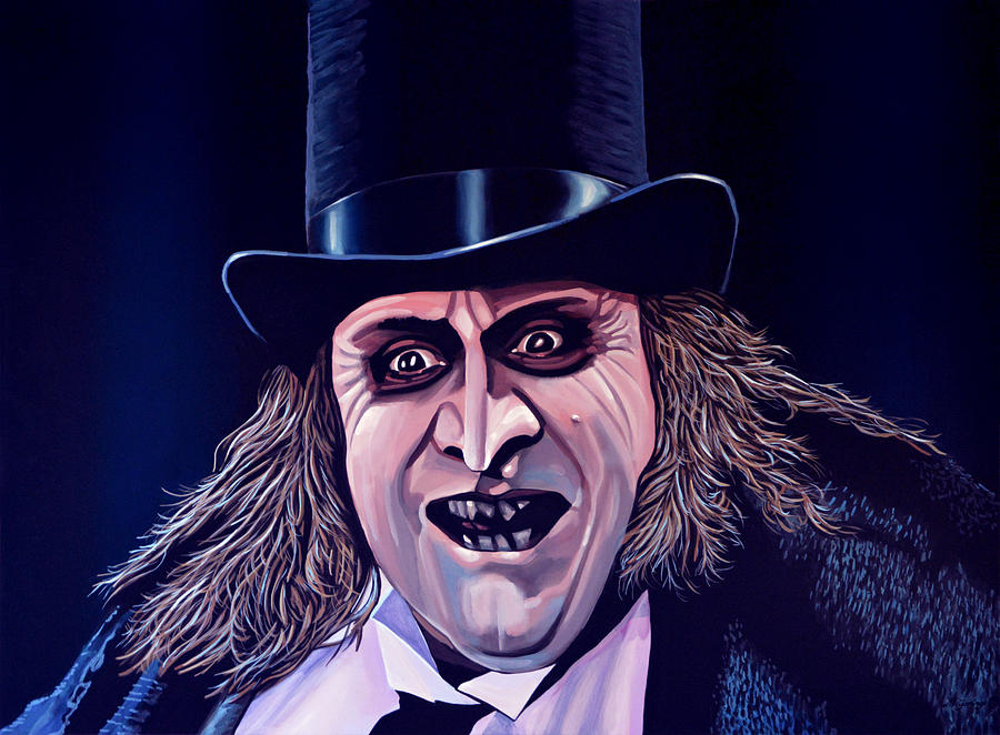 Danny De Vito As The Penguin Painting