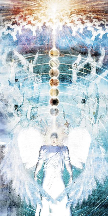 Dantes Angels. Digital Art