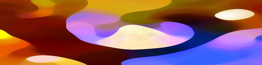 Dappled Light Panoramic 4 Painting