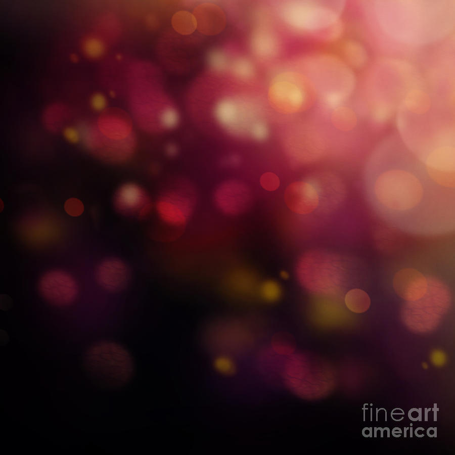 Dark Bokeh Digital Art