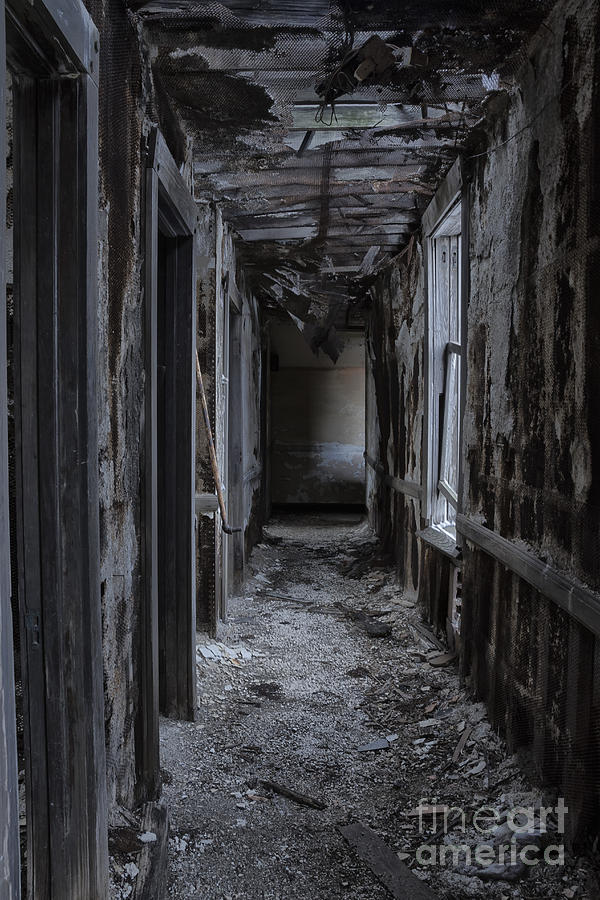 Dark Halls Photograph