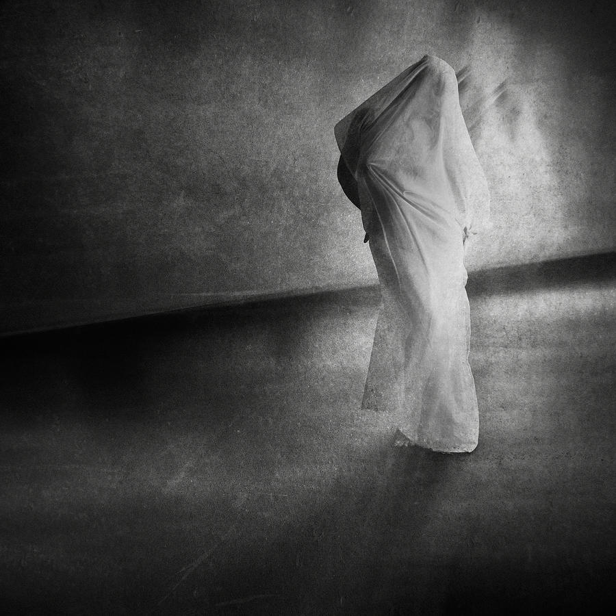 Dark Hallway Photograph