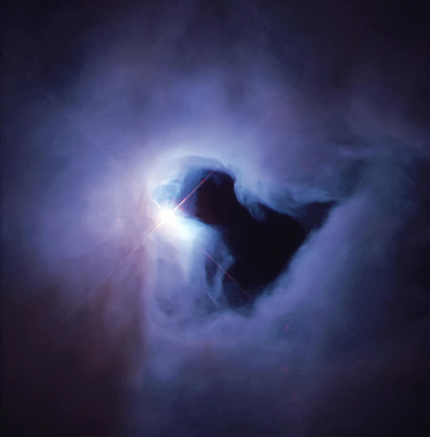 Dark Nebula Cloud  Photograph  - Dark Nebula Cloud  Fine Art Print