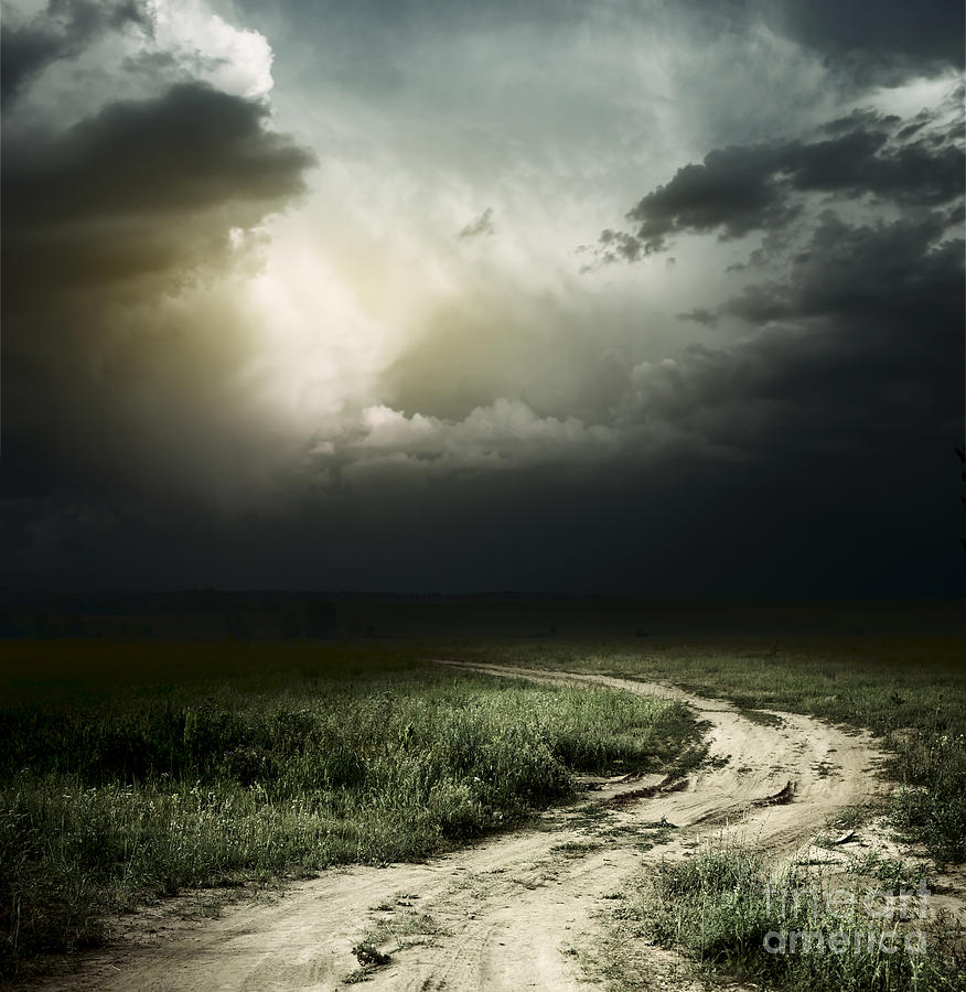 Dark Storm Cloud Photograph  - Dark Storm Cloud Fine Art Print