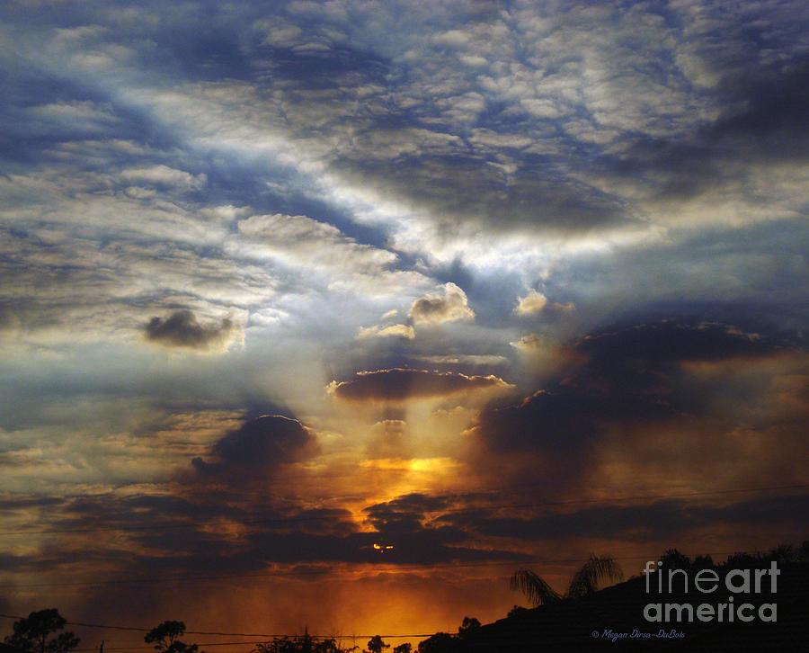 Clouds Photograph - Darkness Descends by Megan Dirsa-DuBois