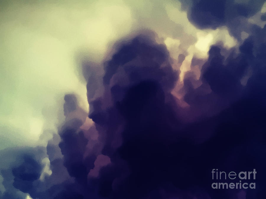 Darkness Rising Digital Art  - Darkness Rising Fine Art Print