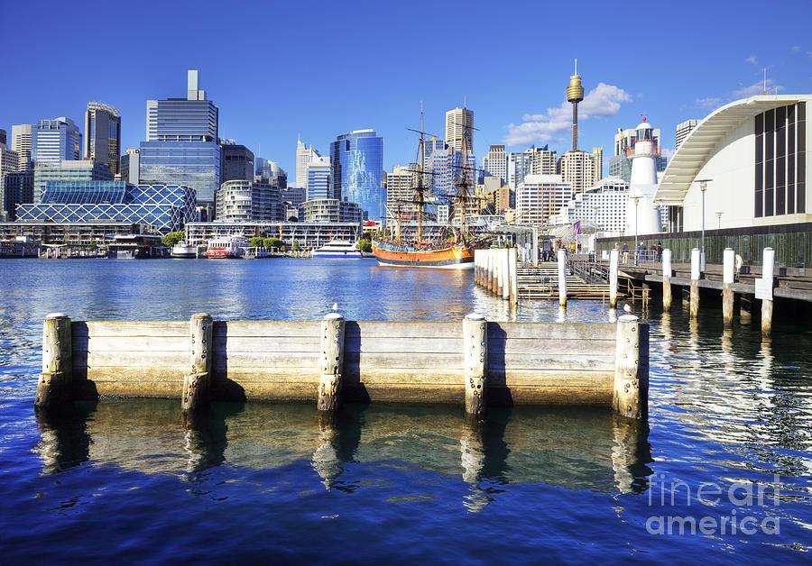 Darling Harbour Sydney Australia Photograph