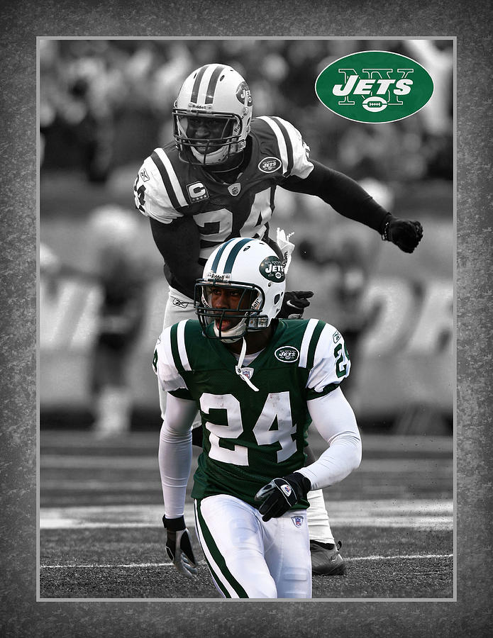 Darrelle Revis Jets Photograph