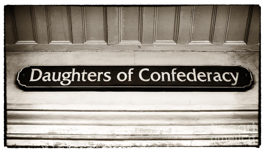 Daughters Of Confederacy Photograph
