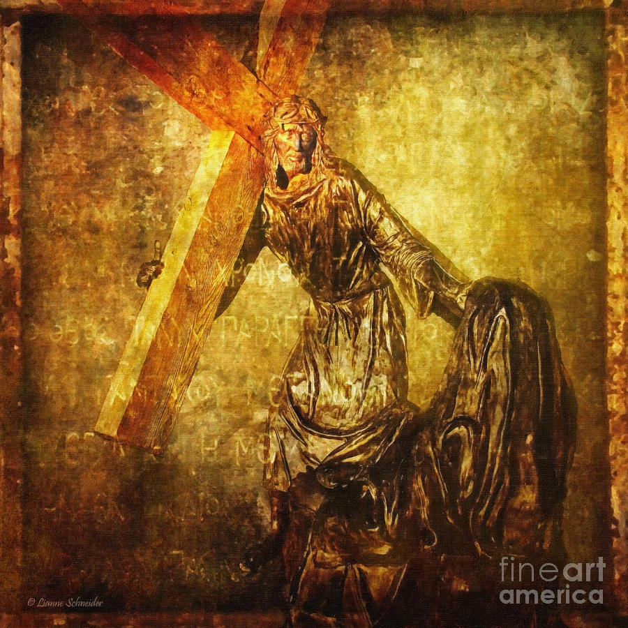 Daughters Of Jerusalem Via Dolorosa 8 Digital Art