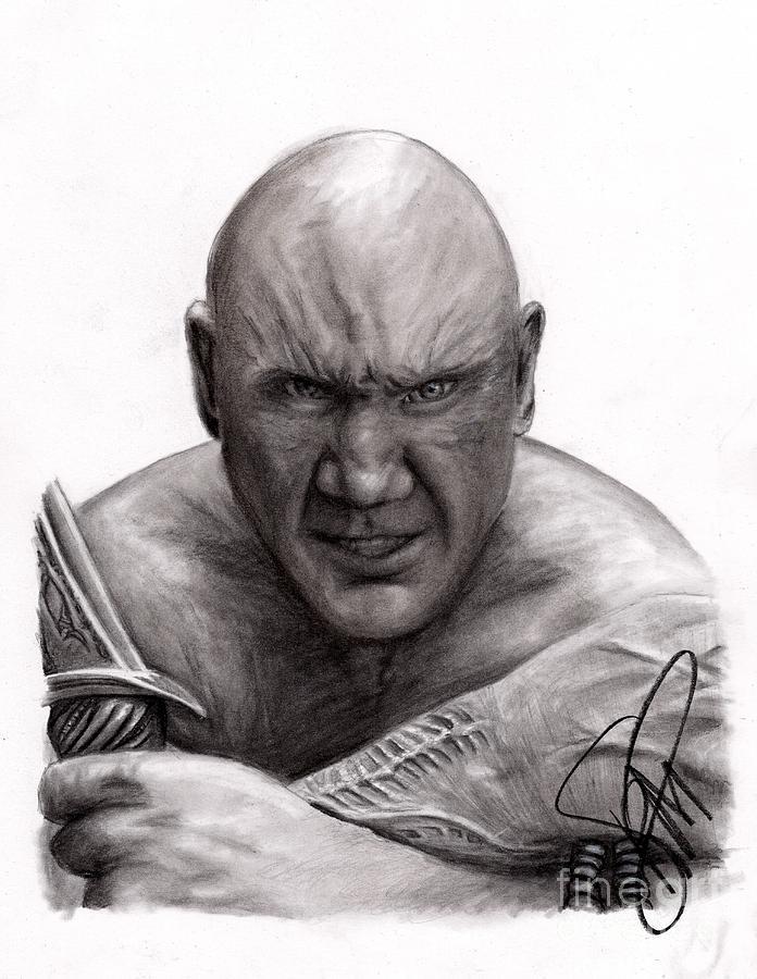 Dave Bautista Drawing