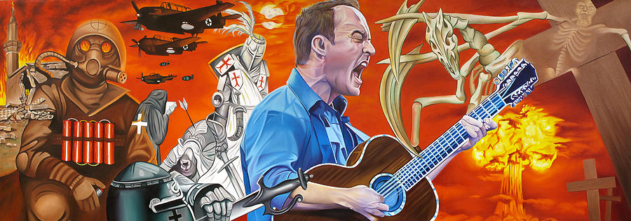 Dave Matthews The Last Stop Painting