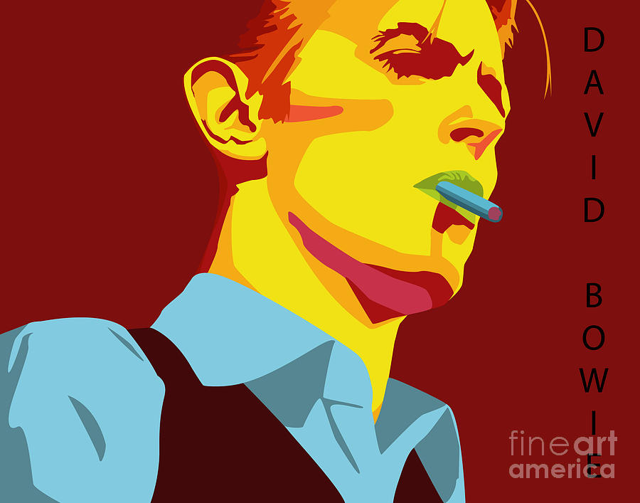 David Bowie Digital Art