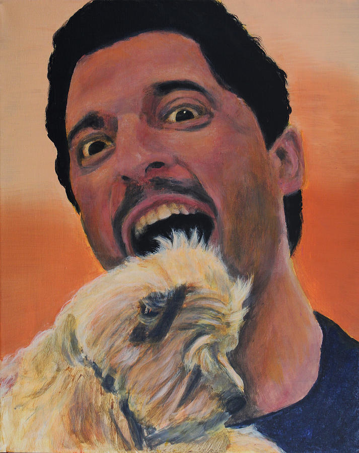 David Silverman- Eater Of Yorkies Painting