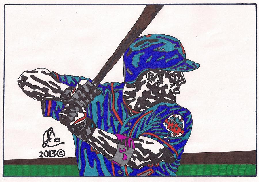 David Wright 2 Drawing