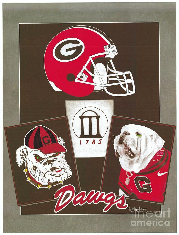 Dawgs Poster  Painting