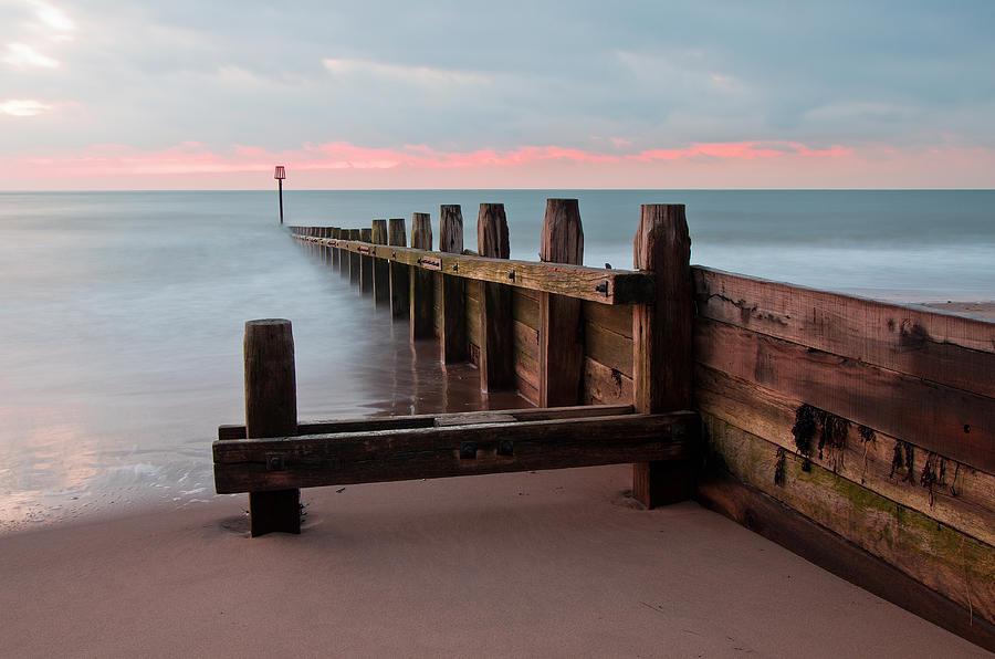 Dawlish Warren Photograph - Dawlish Warren At Dawn by Pete Hemington