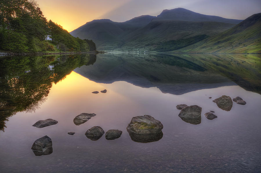 Wasdale Photograph - Dawn Of A New Day by Evelina Kremsdorf