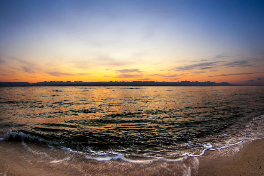 Dawn Over The Red Sea Photograph