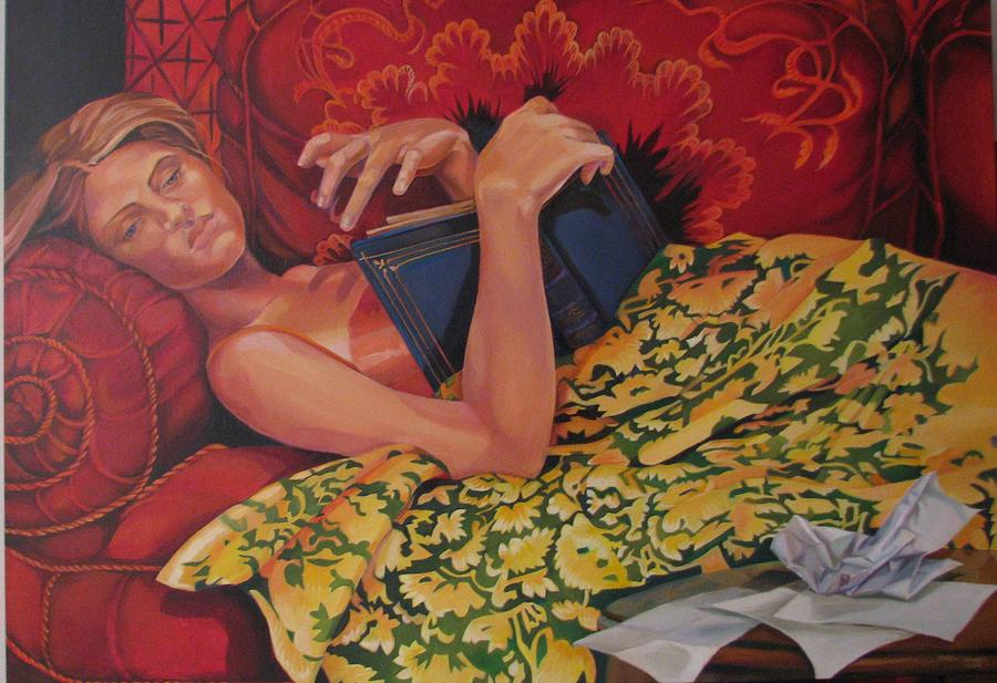 Painting - Day Dreaming by Julie Orsini Shakher