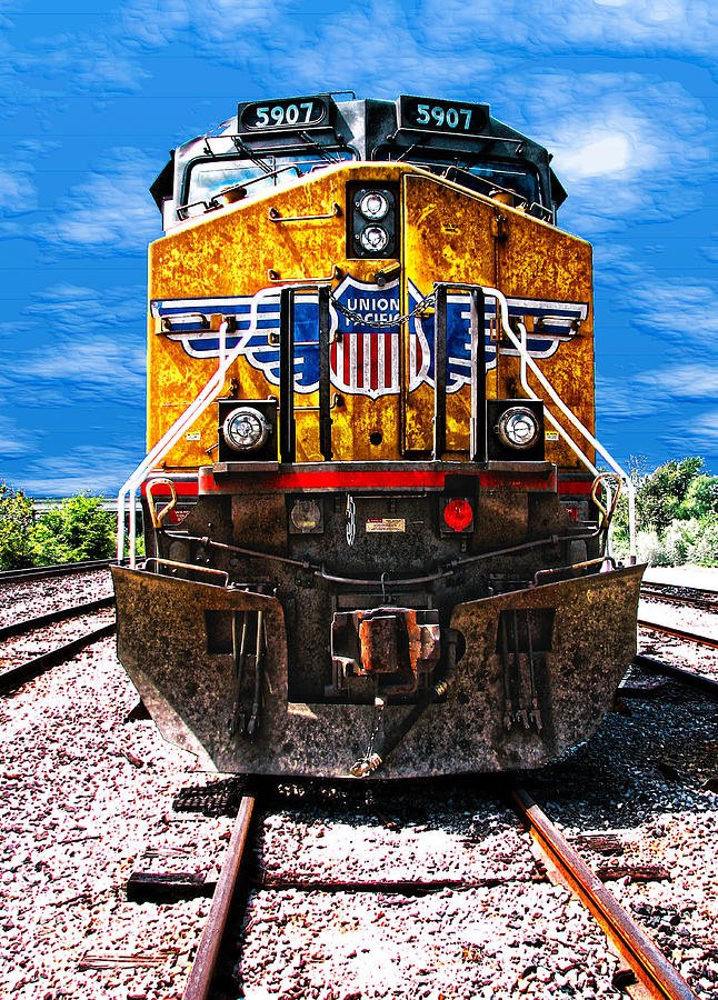 Day Train Photograph  - Day Train Fine Art Print