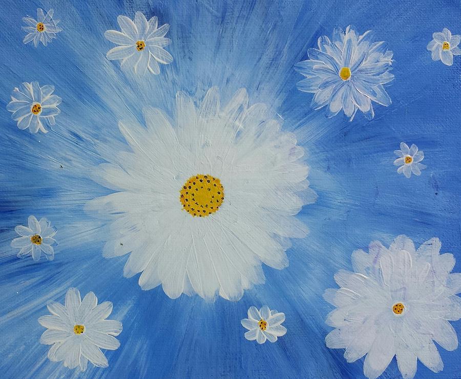 Daydreamin Daisy Painting