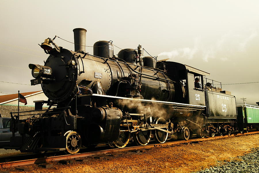 Days Of Steam And Steel Photograph  - Days Of Steam And Steel Fine Art Print