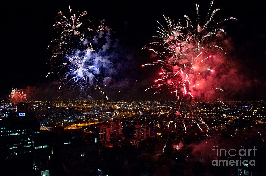 Dazzling Fireworks II Photograph
