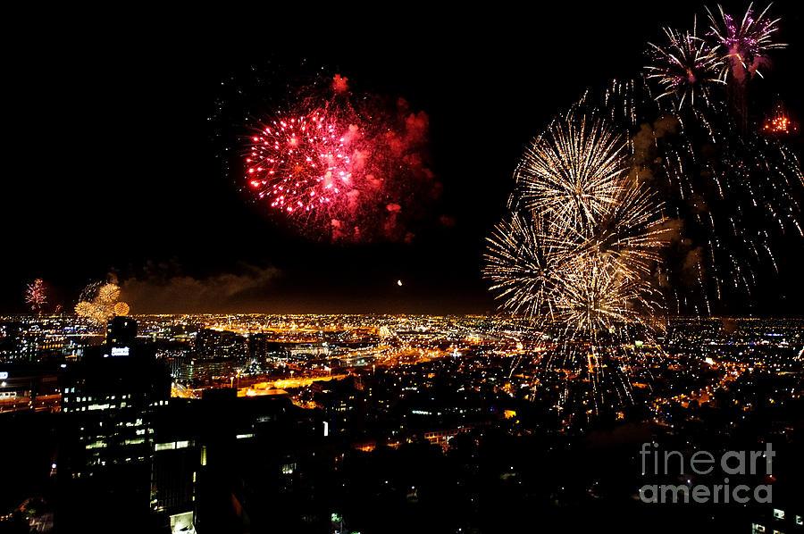 Dazzling Fireworks IIi Photograph