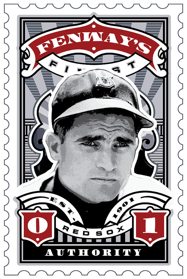 Dcla Bobby Doerr Fenways Finest Stamp Art Digital Art