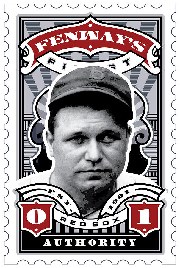 Dcla Jimmie Fox Fenways Finest Stamp Art Digital Art