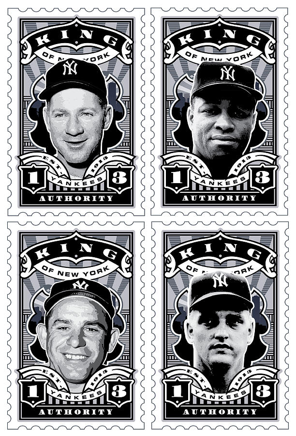 Dcla Kings Of New York Combo Stamp Artwork 2 Digital Art