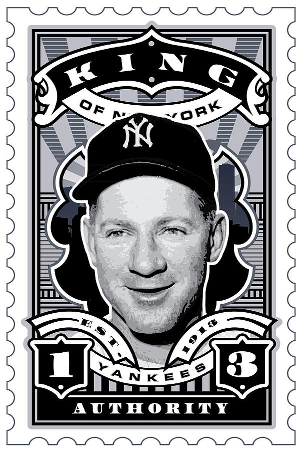 Dcla Whitey Ford Kings Of New York Stamp Artwork Digital Art
